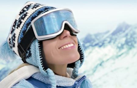 Speciale zon bescherming bij Wintersport