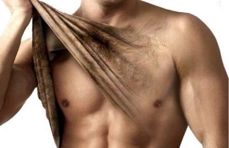 Mannelijke lichaamsbeharing