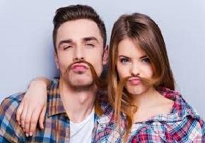 Lichaamsbeharing man en vrouw
